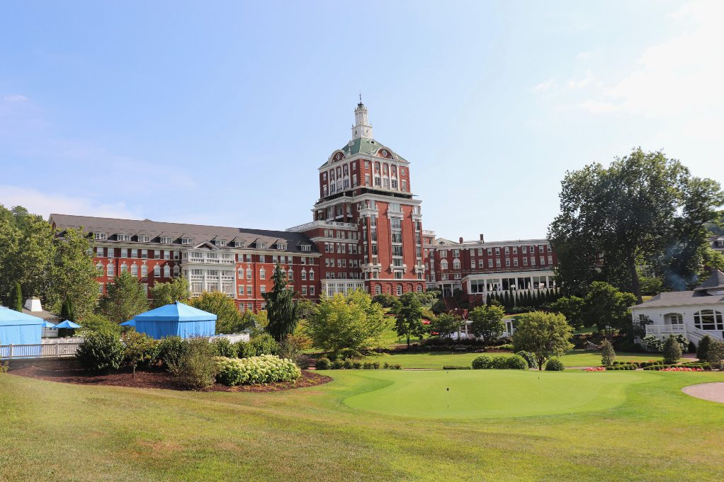 The Omni Homestead Resort, just minutes from The Preserve