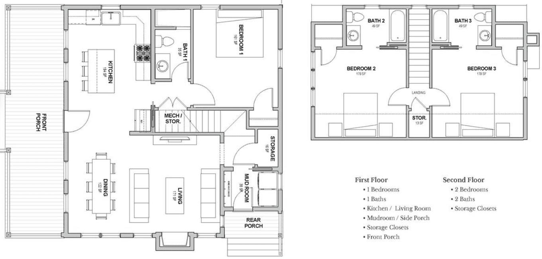 Real Estate House Floor Plan